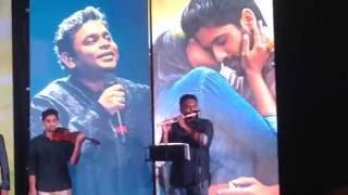 Naveen Flutist  Grammy Winner  A R Rahman  Best Fulte Music   Saahasam Swasaaga Saagipo   width=