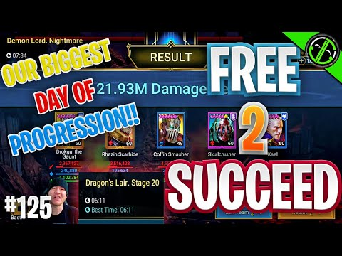 2 Keying NM & Clearing Dragon 20, LET'S GET IT | Free 2 Succeed - EPISODE 125