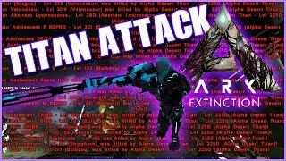 TITAN ATTACK vs TEK DEFENSE ► ARK CONQUEST OFFICIEL