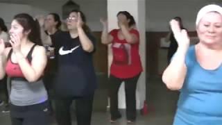 """COREOGRAFÍA DE  CUARTETO """"CACHETADA"""" DE PABLITO RUIZ FT. CUCHO ( AUTENTICOS DECADENTE)"""