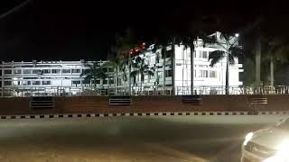 Evening view of renovated Sambalpur Railway Station.. width=