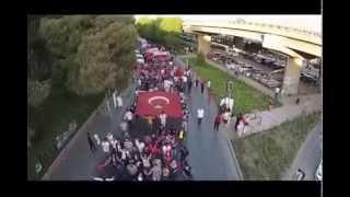 Fırat Yılmaz Çakıroğlu için Gençlik Bayramı Münasebeti ile Yapılan Yürüyüş