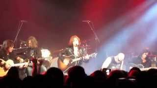 Europe - Open Your Heart live acoustic clip, The Coal Exchange, Cardiff, Wales 12/4/2012
