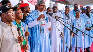 Remarks of President Buhari at the Official flag off of APC Presidential Campaign at Kaduna State