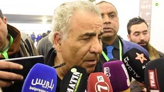 Faouzi Benzarti et ses joueurs commentent leur victoire au 125e derby