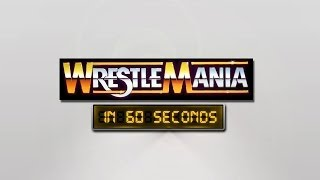 WrestleMania in 60 Seconds: WrestleMania I