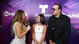 Exclusiva con Pepe Aguilar con Elizabeth López