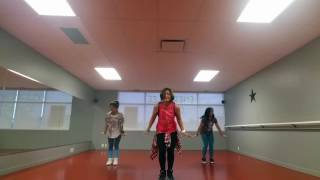 Zumba with Tina (Girl in the mirror by Sophia Grace)