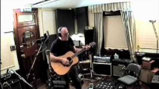 "David Gilmour recording ""This Heaven"" in Astoria"