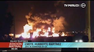 Pisco: incendio en fábrica de chocolate fue controlado