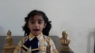 Arohi Nitin Ubale's speech on Savitribai Phule