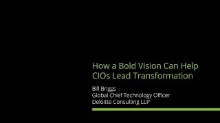 CIO Digital Vision