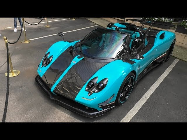 The Pagani Zonda UNO arrives in London ( 1of1 )