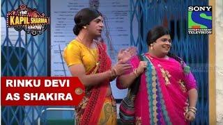 Rinku Devi as Shakira - The Kapil Sharma Show width=