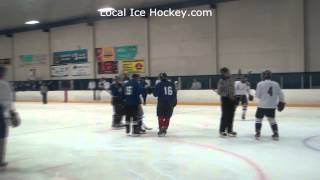 Evan Anderson assisted by Mark Whiteley and Brandon Kearney Langley Rivermen Main Camp