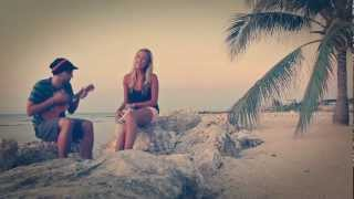"""Ho Hey"" The Lumineers - Jamaica (ukulele cover) - Candace and Michael"