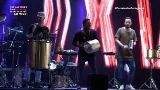 Transmissão Live Festa Junina da Portuguesa, Turma do Pagode, A gente tem tudo a ver