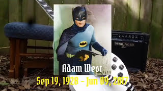 1960'S BATMAN THEME (Metal Cover) [R.I.P ADAM WEST]