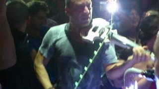 gran inaguarcio  septiembre 2012 de la galeria jerez violin y saxo live