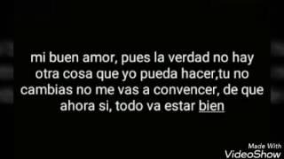"""Mon laferte """"mi buen amor"""" (LETRA)"""