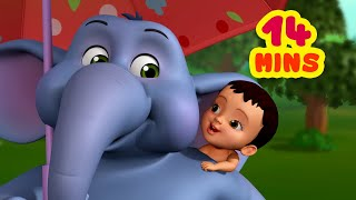 Cute Little Hati   The Elephant Rhyme   Bengali Rhymes For Children Collection   Infobells