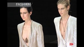 GIORGIO ARMANI Spring Summer 1998 Milan - Fashion Channel