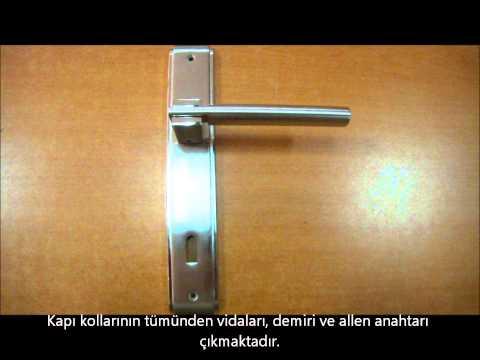 Doğanlar alfa saten nikel aynalı oda kapı kolu (www.hirdavatfirsati.com)