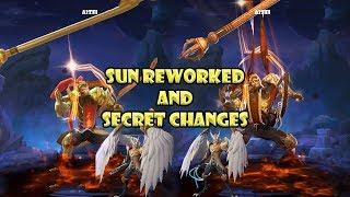 Mobile Legends Sun Rework and Secret Changes
