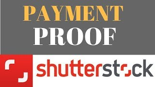 Shutterstock Payment Proof |First Payment  From Selling Photos Online || Stock Photography Earning |