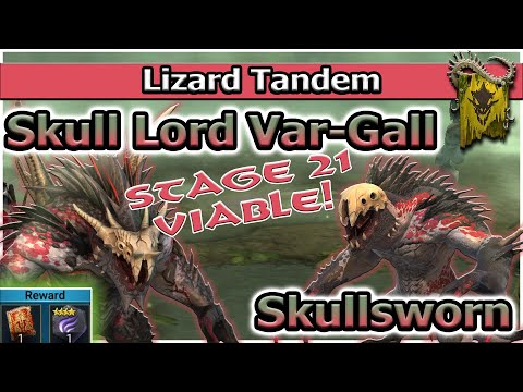 RAID Shadow Legends | Lizard Tandem | Skull Lord + Skullsworn | Easy Faction Wars!