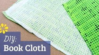 DIY Book Cloth for Bookbinding   Sea Lemon