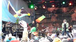 Damian Marley Live Whistler Village during the Olympics