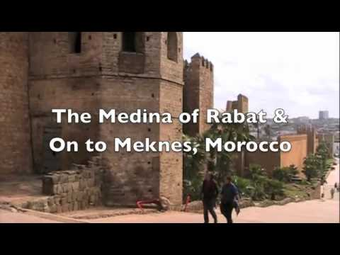 The Medina of Rabat and On To Meknes, Morocco