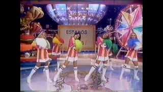 """Xuxa cantando """"Hoje É Dia De Folia"""" - Xuxa Park de férias 20/2/1999"""
