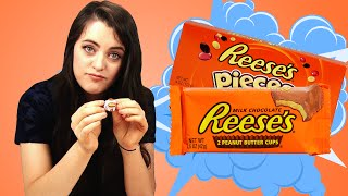Irish People Taste Test Reese's Candy