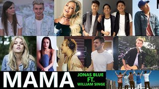 Jonas Blue - Mama ft. William Singe (Top 10 Cover)