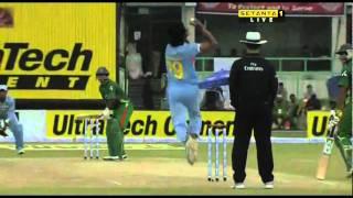 Alok Kapali 100 vs India.flv
