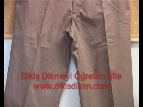 Pantolon Nasıl Dikilir? www.dikisdikim.com