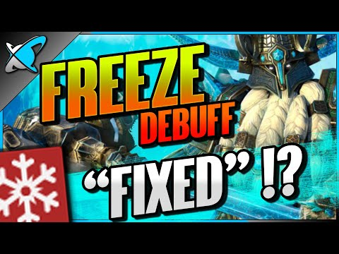 """THE FREEZE Debuff... Got """"FIXED"""" 