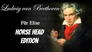 Beethoven - Für Elise - Horse Head Edition