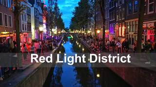 Red Light District, Amsterdam:オランダの飾り窓