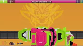 Kamen Rider Ex-Aid Flash Belt Hyper Muteki Henshin Sound and Finisher
