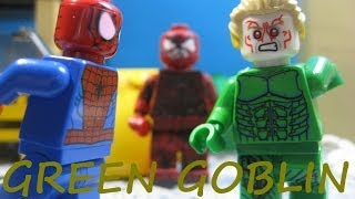 Lego Spiderman Vs Green Goblin