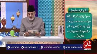 Nuskha : Blood Pressure ka Rohani Ilaj - 22 February 2018 - 92NewsHDPlus