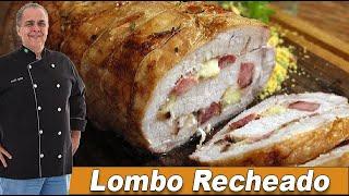 Lombo Recheado do Chef Taico