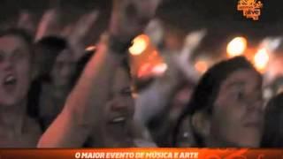 """""""A música move pessoas"""" - Optimus Alive 2012"""