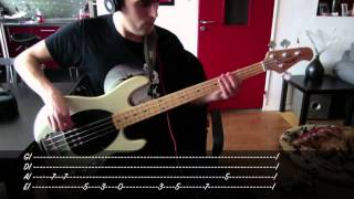 Audioslave - Cochise - Bass Cover & Tab