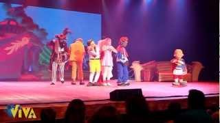LazyTown e a Aventura do Pirata no Teatro Riachuelo