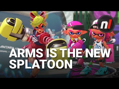 WTFF::: Soapbox: ARMS is the New Splatoon for the Nintendo Switch Generation