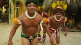 Dança de Índio kuikuro do Alto Xingu